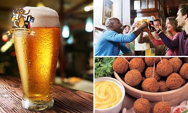 Rondleiding stadsbrouwerij + proeverij + bitterballen