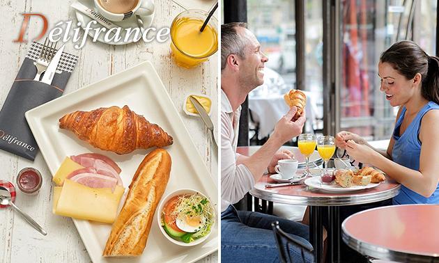 Compleet ontbijt naar keuze bij Délifrance