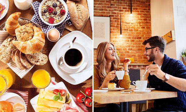 Uitgebreid ontbijt bij Délifrance in hartje Veenendaal