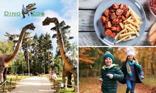 Eintritt Dino Zoo Metelen + Currywurst + Pommes
