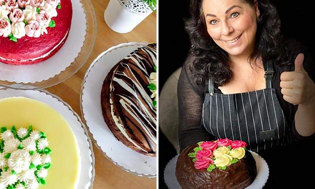 Afhalen: luxe taart naar keuze bij Di´s