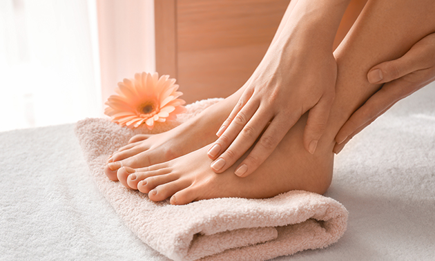 Spa-pedicurebehandeling (75 min) + drankje