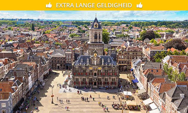 Stadswandeling (2 uur) door Delft