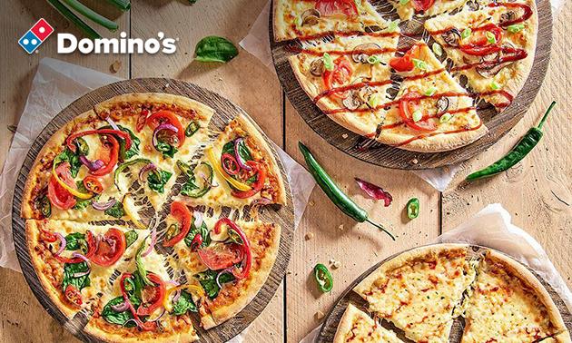 Afhalen: Domino's medium pizza naar keuze