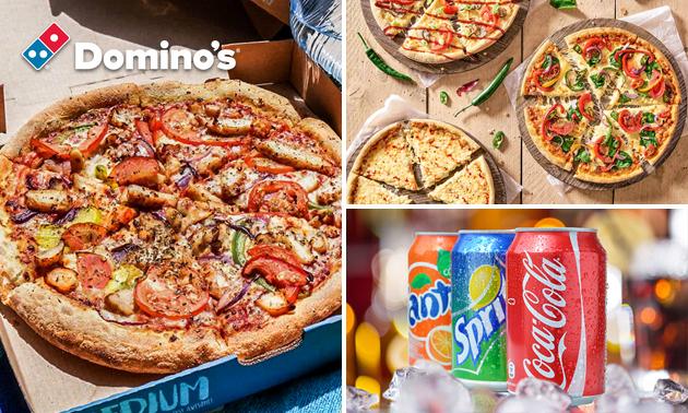 Afhalen: Domino's pizza naar keuze (7 locaties)