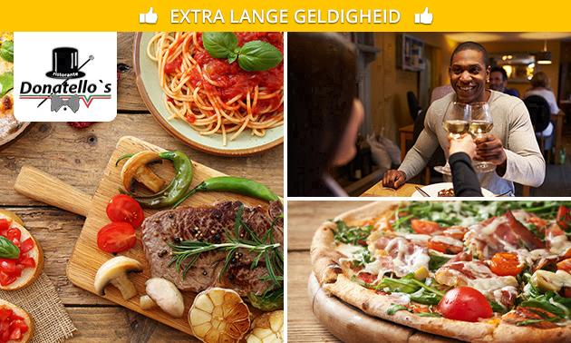 Afhalen: pasta of pizza bij Donatello´s Arnhem