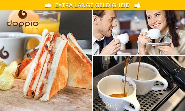 Luxe tosti + 2 drankjes in hartje Assen