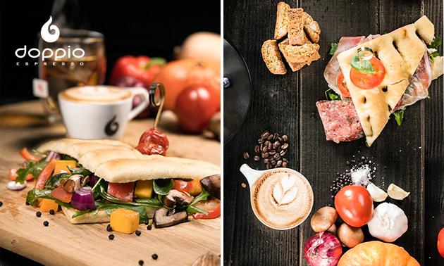 Complete brunch + drankje bij Doppio Espresso