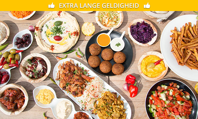 4-gangen shared dining bij Doydoy