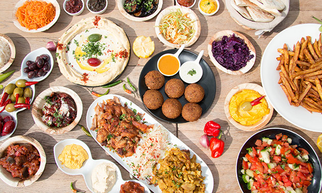 4-gangen shared dining bij Doydoy