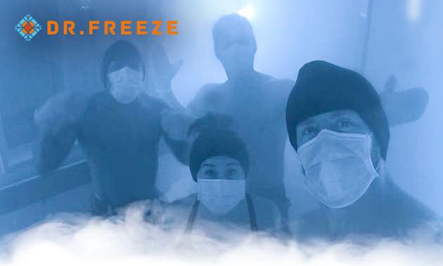 Cryotherapie-behandeling(en) bij Dr.Freeze