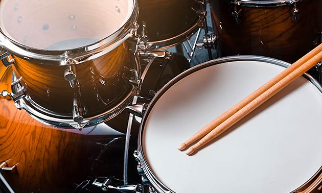Workshop drummen + koffie/thee + lekkernij