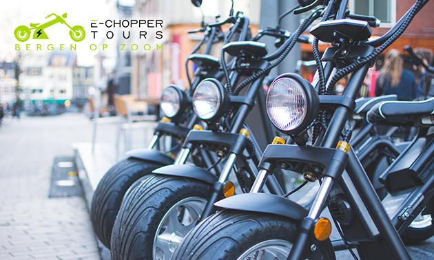 Huur E-Chopper (1, 2 of 3 uur)