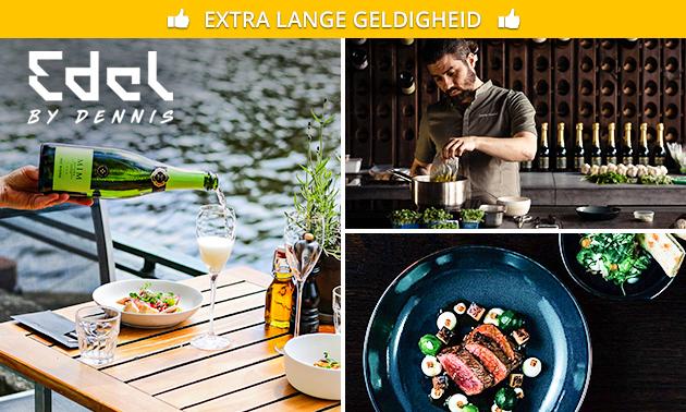 Gastronomisch 4-gangendiner bij Edel by Dennis
