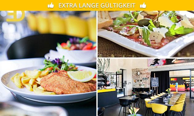 3-Gänge-Menü bei Eduard Bistro & Restaurant