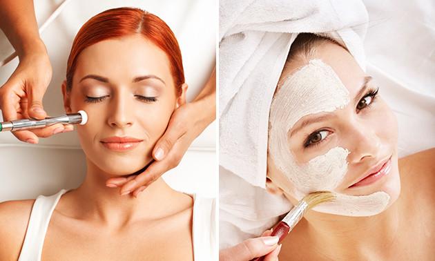Pflegende Gesichtsbehandlung