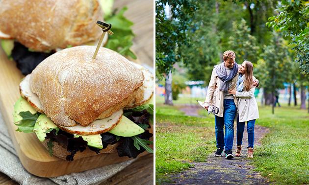 Wandel- of fietsarrangement + lunch to go bij De Groes
