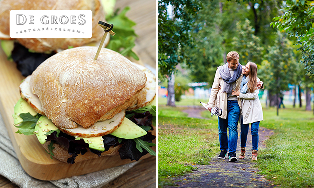 Wandel- of fietsarrangement + lunch to go bij De Groes