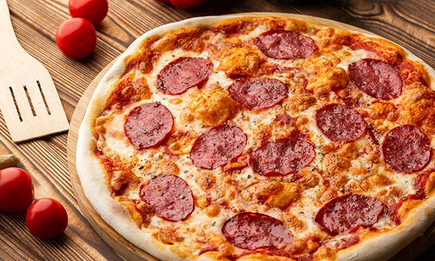 Afhalen: pizza (35+ keuzes) + frisdrank