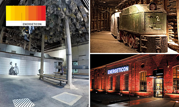 Eintritt in das Energie-Erlebnismuseum
