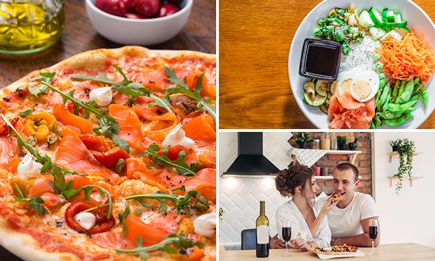 Afhalen: 2 pizza's of pokébowls bij Erasmus Paviljoen