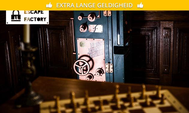 2 escaperooms (2x 60 min) voor 4-6 personen