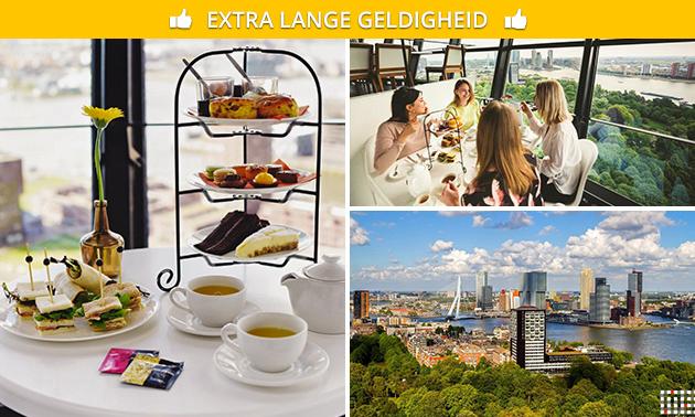 Übernachtung + Frühstück für 2 im Euromast