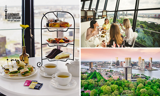 High tea + entree bij Euromast