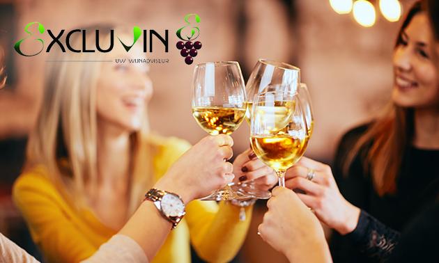 Wijnproeverij bij jou thuis voor 4, 6 of 8 personen