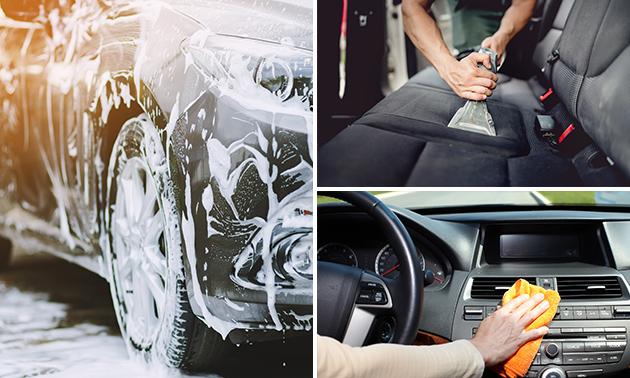 Innen- und/oder Außen Fahrzeugreinigung