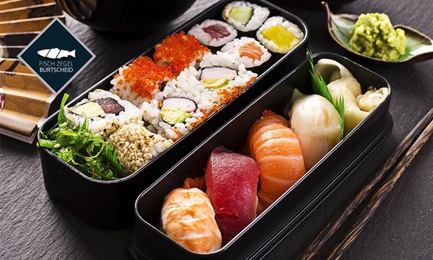 Wertgutschein oder Sushibox bei Fisch Zegel