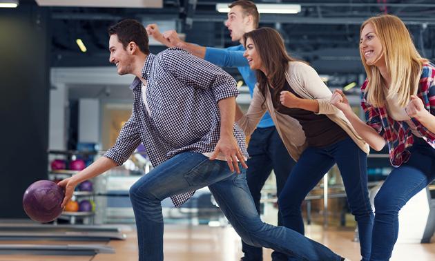 2 uur bowlen met 2 tot 5 personen