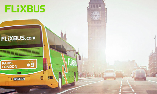 Städtetrip mit FlixBus