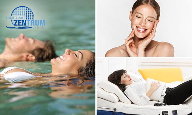 Wellnessarrangement (3,5 uur) incl. floaten