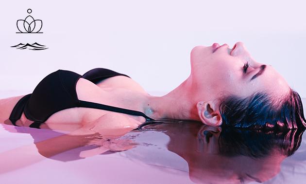 Sessie floaten (60 minuten)