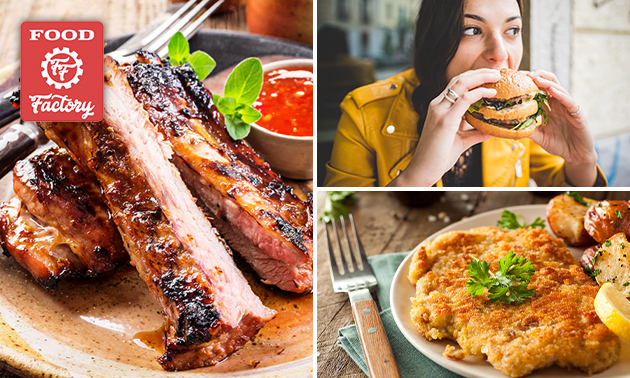 Thuisbezorgd of afhalen: schnitzel-, burger- of spareribsmenu