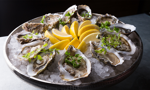 Afhalen: 6 of 12 oesters