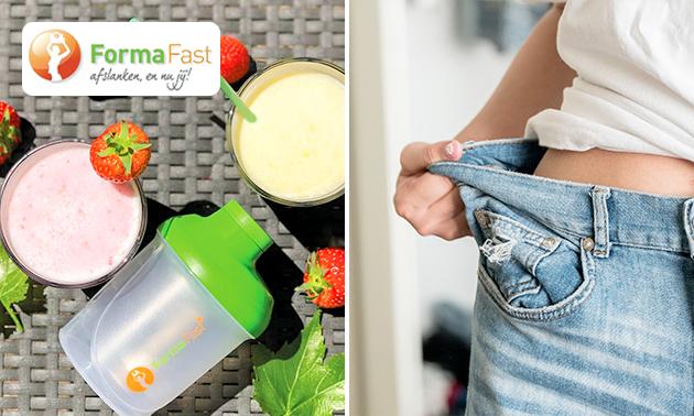 Zum Liefern: 10-Tage-Diät-Paket + Shake-Becher