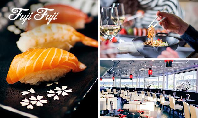 All-You-Can-Eat lunch bij Fuji Fuji Sushi & Grill