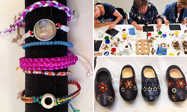 Creatieve workshop (2,5 uur) + koffie/thee