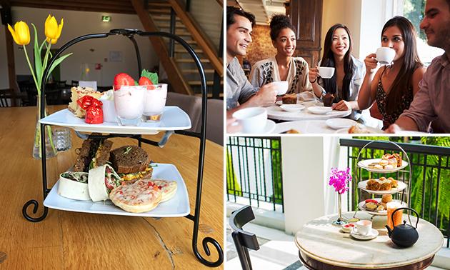 High tea bij Gasterij 't Dorpsgenot