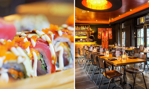 All-You-Can-Eat sushi (2,5 uur) bij Genki