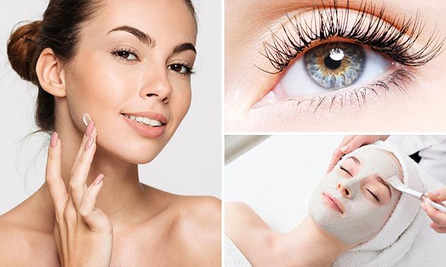 Gesichtsbehandlung (60 Min.) oder Wimpernlifting