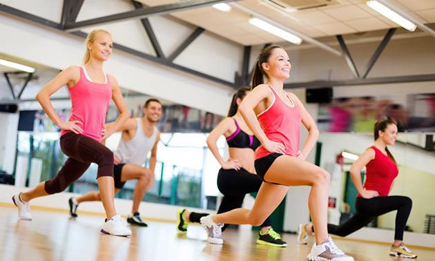 3 maanden onbeperkt fitness en groepslessen