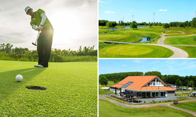 Golf (9 holes) + huur golfclubset bij GOLF 4 ALL