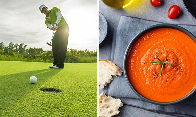 Dagabonnement golfbaan óf golflessen