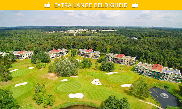 Golfles + 9-holes golf