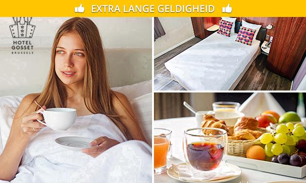 Übernachtung + opt. Frühstück für 2 nahe Brüssel