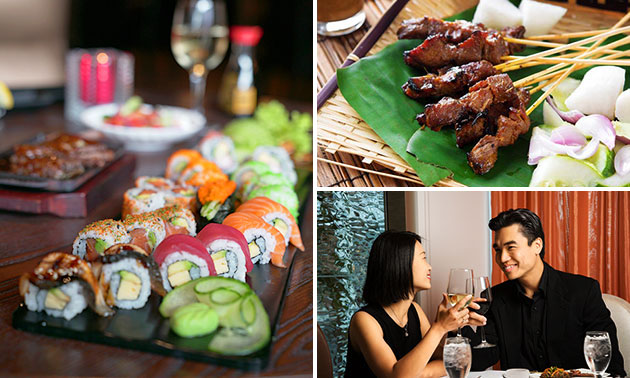 All-You-Can-Eat (3 uur) bij Goya Sushi & Grill