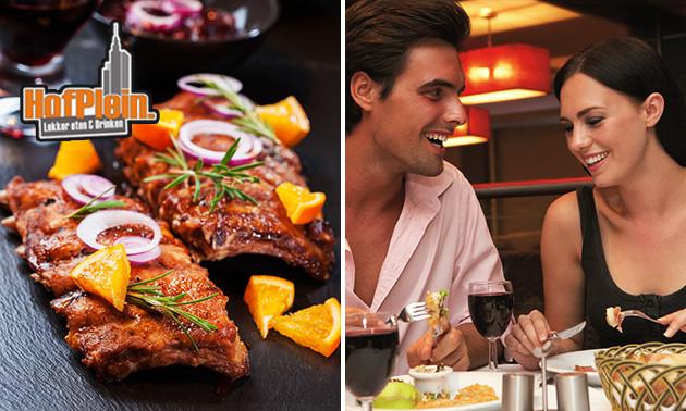All-You-Can-Eat spareribs + nagerecht bij Hofplein